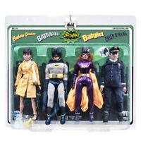 Batman 66 Classic TV Show Retro Style 8 Inch Figures Series 1 Four-Pack