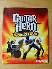 Guitar Hero World Tour Sony Playstation 3 Game Manual