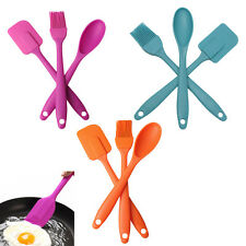 Silicone spatula spoon brush 3pcs cooking tool Utensil Tool Set Cooking Kit Set
