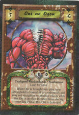 Legend of the Five Rings CCG - ONI NO OGON - Shadowlands