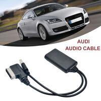 USB AUX Adapter Cable Bluetooth for Audi A5 8T A6 4F A8 4E Q7 7L AMI MMI 2G UK
