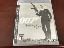 James Bond 007: Quantum of Solace (Sony PlayStation 3, 2008) Complete
