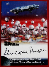 SPACE 1999 - CHRISTOPHER PENFOLD - Writer - AUTOGRAPH CARD - Unstoppable Cards