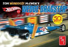 AMT 1/25 Tom Mongoose McEwen's Hot Wheels Wedge Dragster PLASTIC KIT 1069