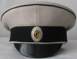 WW1 Officer's Peaked Cap Markovski Regiment 1919Type With cocade Russia, Replica