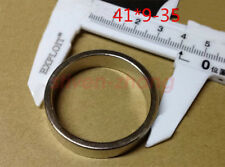 2 pcs 41mm x 9mm 35mm-hole  N50 Ring Round Neodymium Permanent Magnets With Hole