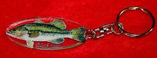 porte-cles poisson black bass 1 animals keychain llavero animales schlusselring