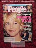 PEOPLE December 21 1998 MEG RYAN CARMEN ELECTRA MICHAEL ZASLOW PAUL WILLIAMS