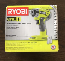 Ryobi P238 18V 18-Volt ONE+ 1/4 in.  3-speed Brushless Impact Driver, New in Box