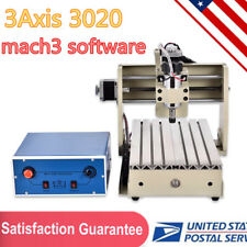 CNC3020T 3 Axis Engraver Router Engraving/Drilling/Milling Machine Cutter 300W