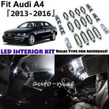 17x White LED Interior Lights Package Kit For 2013 2014 2015 2016 Audi A4
