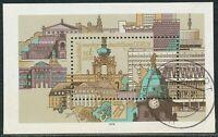 """DDR 1979 Nationale Briefmarkenausstellung DDR '79, Dresden Kab.-Block """"NEUSTADT"""""""