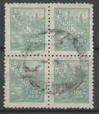 No: 78696 - UK - BRAZIL - AN OLD BLOCK OF 4 - USED!!