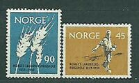 Norway - Mail 1959 Yvert 394/5 MNH