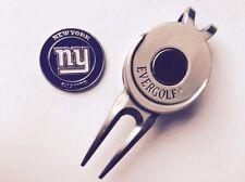 Nfl New York Giants Golf Ball Marker and Magnetic Divot Tool