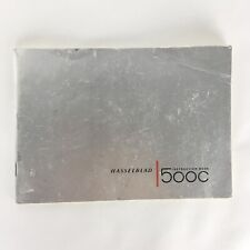 Vintage Original 1961 HASSELBLAD 500C Owner Instruction Book
