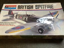 monogram 1/48 6801 raf british spitfire vintage model aircraft kit sealed