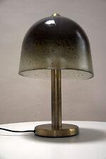 GRAND ÉLÉGANT LAMPE CHAMPIGNON DE TABLE / Lampadaire Peill VISTOSI ère années