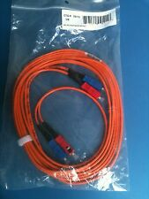 09115 CTG 3M SC/SC Duplex 62.5/125 Multimode Fiber Patch Cable