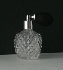 Glas Parfümzerstäuber schöner Parfümflakon  ca. 80 ml