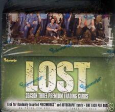 LOST Season 3 TC Box MINT autograph Pieceworks