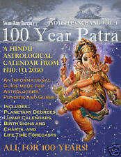 100 Year Patra : Life Code: The Vedic Code Book for 100 predictions1930 - 2030 v