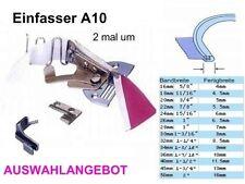 Einfasser Einfassapparat A10, Breite Schrägband / Fertigbreite zur Auswahl !!