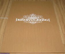 KIM HYUN JOONG SS501 2013 OFFICIAL WALL CALENDAR SEALED