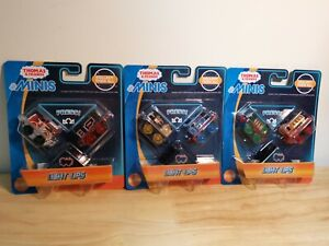 x3  Thomas & Friends MINIS Light-Ups NEW IN PACKAGING