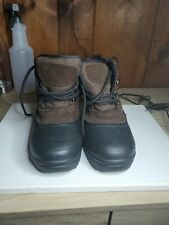 Donner Mountain Boots Mens - Size: 4 - Color: Dark Brown/Black