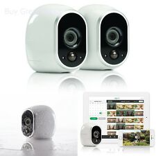 New Arlo Smart Home Security Camera System - 2 HD, 100pct Wire-Free by Netgear