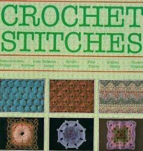 """""""Harmony"""" Guide to Crochet Stitches Paperback Book The Cheap Fast Free Post"""