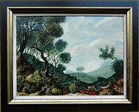 Gert H. Wollheim 1894-1974: Gebirge Landschaft Ölgemälde Werkverzeichnis-Nr. 615