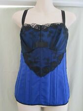 X29085, Shirley of Hollywood - Corset - Royal Blue - 38C/D