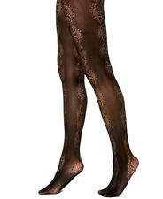 INC International Concepts Women's Lace Pattern Tights Black Size M/L
