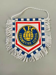 Lokomotive Leipzig 1FC fanion vintage football banderin pennant wimpel