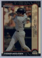 1999 Bowman Chrome Todd Helton #235 Refractor Colorado Rockies SP