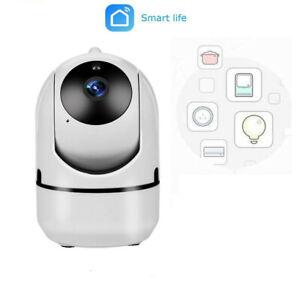 Cámara Vigilancia Smart Wireless HD Wifi para interiores   Con Vision Nocturna