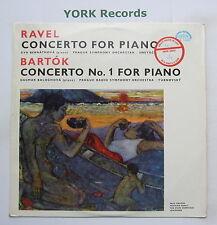 SUA 10602 - RAVEL / BARTOK - Piano Concertos BERNATHOVA - Ex Con LP Record