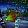 Christmas Star Laser Projector Light Moving Outdoor Landscape Lawn Garden Lamp