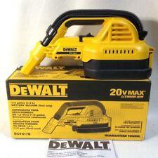 DEWALT Wet Dry Portable Vacuum Cleaner 20V 1/2 Gallon Cordless Vac DCV517B