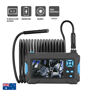 "HD1080P 4.3"" Blue Display Screen Industrial Endoscope Camera Borescope Monitor"