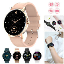 Women Smart Watch Heart Rate Sleep Monitor Call Message Reminder for iOS Android