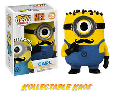 Despicable Me 2 - Minion Mustache Carl Pop! Vinyl Figure