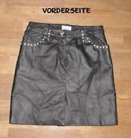 """WOW!!! kurzer """" BODYRIGHT """" LEDERROCK / Rock / Minirock in schwarz Gr. 34"""
