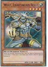 Yu-Gi-Oh! - 6X Wulf, Lightsworn Beast - BLLR-EN039 -  Ultra Rare -1st Edition