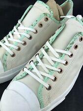 Converse Jack Purcell SNEAKERS Shoes Men's 11 Women's 12.5 Unisex Low Tan Green