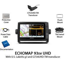 Garmin ECHOMAP UHD 93sv Chartplotter/Fishfinder with GT54UHD-TM 010-02342-01