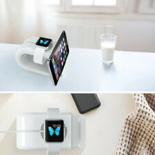 2 in 1 Charging Dock Station Stand For iPhone 11 X 8 7 Plus Apple iWatch 5 4 3 2