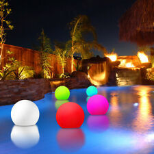 NEW! LED FLOATING COLOR SPHERE - POOL FLOAT LIGHT SHOW BALL - MOOD GLOWING ORB